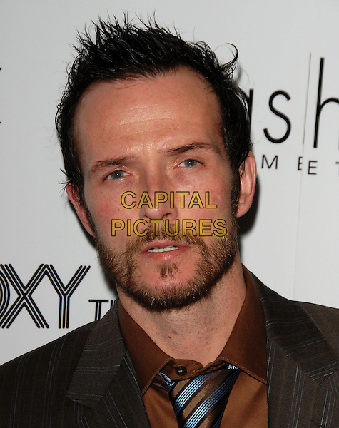 """SCOTT WEILAND - VELVET REVOLVER.The """"Hedwig & The Angry Inch VIP"""" Viewing held at The Roxy Theatre in West Hollywood, California, USA.  .April 3rd, 2006.Ref: DVS.headshot portrait beard facial hair.www.capitalpictures.com.sales@capitalpictures.com.Supplied By Capital PIctures"""
