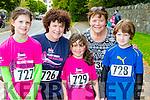 Three Generations from Killarney ran the Killarney Women's mini marathon on Saturday Niamh, Julie and Bronagh Dorrian, Eileen Daly and Ciara O'Sullivan