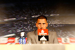 Eden Hazard is presented as new player of Real Madrid CF at Estadio Santiago Bernabeu on June 13, 2019 in Madrid, Spain. (ALTERPHOTOS/Manu R.B.)