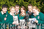 FRESH: Pupils from Killorglin Community College who made the movie 'Everybody Hurt's' for the Fresh Film Festival l-r: John Murphy, Rachel Moroney, Mike Sheehan, Adrienne Brosnan, Patrick Sheehan and Mairead Sheahan.   Copyright Kerry's Eye 2008