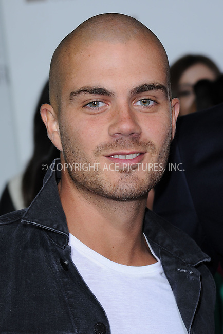 WWW.ACEPIXS.COM . . . . . .April 22, 2013...New York City....Max George of The Wanted attends the E! 2013 Upfront at The Grand Ballroom at Manhattan Center on April 22, 2013in New York City.....Please byline: KRISTIN CALLAHAN - WWW.ACEPIXS.COM.. . . . . . ..Ace Pictures, Inc: ..tel: (212) 243 8787 or (646) 769 0430..e-mail: info@acepixs.com..web: http://www.acepixs.com .