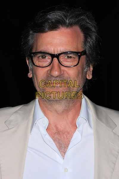 GRIFFIN DUNNE.Attend the 9th Annual Tribeca Film Festival Vanity Fair Party held at the New York State Supreme Courthouse, New York, NY, USA.              .April 20th, 2010.headshot portrait blue beige glasses stubble facial hair .CAP/LNC.©TOM/LNC/Capital Pictures.