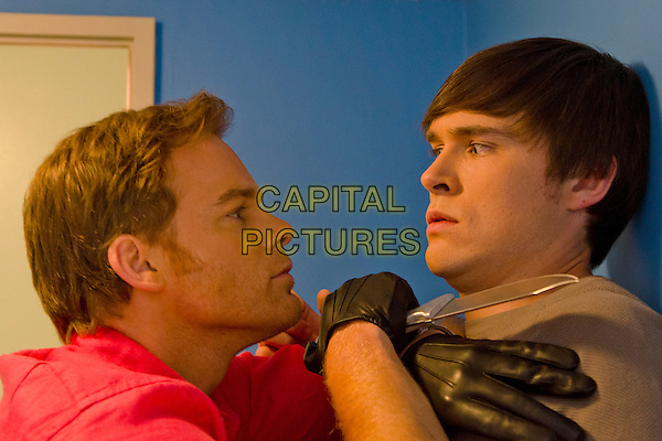 Michael C. Hall, Sam Underwood <br /> in Dexter (Season 8)<br /> *Filmstill - Editorial Use Only*<br /> CAP/FB<br /> Image supplied by Capital Pictures