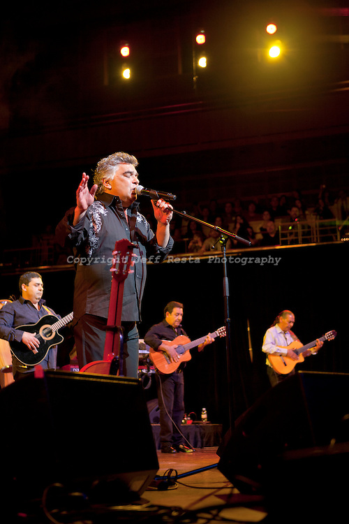 Gipsy Kings live concert at the Morton H Meyerson Symphony Center on February 22, 2011 in Dallas, TX.