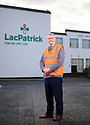 Gabriel D'Arcy, chief exec of Lacpatrick at infant milk place in Artigarvan, Strabane, Northern Ireland. Photo/Paul McErlane