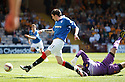 :: RANGERS' KYLE LAFFERTY SCORES THE FIRST ::