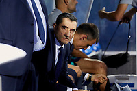 FC Barcelona's Ernesto Valverde during La Liga match between CD Leganes and FC Barcelona at Butarque Stadium in Madrid, Spain. September 26, 2018. (ALTERPHOTOS/A. Perez Meca)<br /> Liga Campionato Spagna 2018/2019<br /> Foto Alterphotos / Insidefoto <br /> ITALY ONLY
