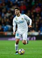 Real Madrid's Marco Asensio and UD Las Palmas'  during La Liga match. November 5,2017. (ALTERPHOTOS/Inma Garcia)