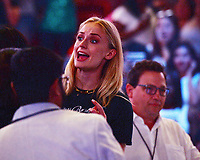 AUG 07 Sophie Turner at The Jonas Brothers Concert Miami