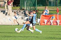 Kansas City, MO - Sunday September 11, 2016: Vanessa DiBernardo during a regular season National Women's Soccer League (NWSL) match between FC Kansas City and the Chicago Red Stars at Swope Soccer Village.