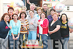 CELEBRATIONS: Staff, management and volunteers of the Listowel Family Resource Centre celebrating at the centre on Saturday afternoon after they announced that 1million has been allocated to them for their new childcare facility on the John B Keane Road. Pictured are Pauline Mallaby, Teresa Keane, Kathleen Brosnan, Bernadine Murphy, Michelle Sheehy, Patricia Lyons, Maria Spence, Molly McCarthy, Bernadette ONeill, Bridie Chute, Tim OLeary, Bridie Mulvihill, Martin Greenwood and Jaqui ONeill..
