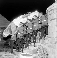Inhumation du general Vanier a Quebec<br /> , le 4 mai 1967<br /> <br /> Photographe : Photo Moderne<br /> - Agence Quebec Presse