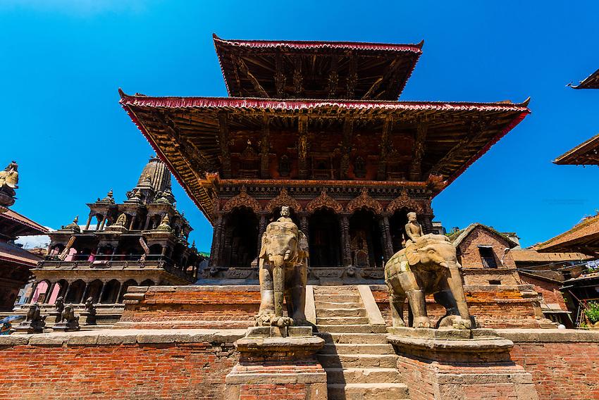 Durbar Square,  Patan (Lalitpur), Nepal.