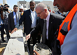Palestinian Prime Minister, Rami Hamadallah, Inaugurates buildings and facilities of the Central Training Institute for Security Forces, during his tour in the West Bank city of Jericho, on July 21, 2016. Photo by Prime Minister Office