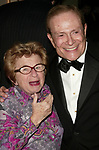 Dr. Ruth Westheimer and Jerry Herman attending the Opening Night performance for<br />