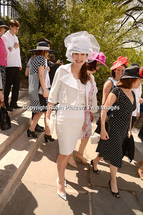 actress Lois Robbins attends the 32nd Annual Frederick Law Olmsted Awards Hat Luncheon given by The Central Park Conservancy on May 7,2014 in Central Park in New York City, NY USA.