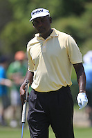 Vijay Singh (FIJ) in the practice area at the 1st tee before starting his match Sunday's Final Round of the 94th PGA Golf Championship at The Ocean Course, Kiawah Island, South Carolina, USA 11th August 2012 (Photo Eoin Clarke/www.golffile.ie)
