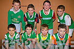Ballydonoghue under thirteen soccer team pictured after they competed in the Community Games Indoor Soccer Tournament at the Community Centre Listowel on Sunday.  Front l-r Brian Mason, Miche?al Foley, John Scully, Johnathan Carr.  Back l-r Brian Seanacha?in, Jason Foley, jack Foley and Darragh Sheehy.