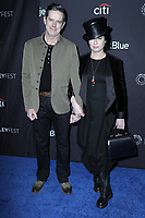 """LOS ANGELES - MAR 15:  Daniel Palladino, Amy Sherman Palladino at the PaleyFest - """"The Marvelous Mrs. Maisel"""" at the Dolby Theater on March 15, 2019 in Los Angeles, CA"""