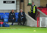 Preston North End manager Alex Neil and Peter Ridsdale look on during the pre-match warm-up <br /> <br /> Photographer Kevin Barnes/CameraSport<br /> <br /> The Carabao Cup - Accrington Stanley v Preston North End - Tuesday 8th August 2017 - Crown Ground - Accrington<br />  <br /> World Copyright &copy; 2017 CameraSport. All rights reserved. 43 Linden Ave. Countesthorpe. Leicester. England. LE8 5PG - Tel: +44 (0) 116 277 4147 - admin@camerasport.com - www.camerasport.com