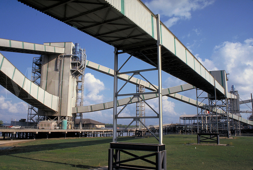 grain elevator and system of transfer.