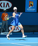 Svetlana KUZNETSOVA (RUS) wins at Australian Open in Melbourne Australia on 20th January 2013
