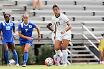 06 September 2015: California's Lorin Hom. The Duke University Blue Devils hosted the University of California Bears at Koskinen Stadium in Durham, NC in a 2015 NCAA Division I Women's Soccer match. California won the game 3-1.