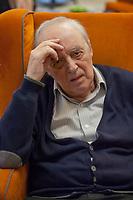 Dario Argento (Roma, 7 settembre 1940) è un regista, sceneggiatore, produttore cinematografico ed ex critico cinematografico italiano. Milan 5 dicembre 2018. © Leonardo Cendamo