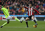 Danny Lafferty of Sheffield Utd during the English League One match at Bramall Lane Stadium, Sheffield. Picture date: December 31st, 2016. Pic Simon Bellis/Sportimage