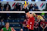 14.01.2018, Halle Berg Fidel, Muenster<br />Volleyball, Bundesliga Frauen, Normalrunde, USC MŸnster / Muenster vs. Dresdner SC<br /><br />Zuspiel Mareen Apitz (#2 Dresden)<br /><br />  Foto © nordphoto / Kurth