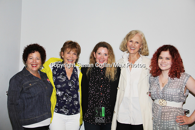 Penny Bergman, Julia Barr, Cady McClain, Jill Larson, Alison Hirschlag -  Seeing is Believing: Women Direct at its East Coast Premiere at Soho International Film Festival on June 19, 2017 in New York City, New York.(Photos by Sue Coflin/Max Photos)
