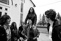 Jeunesse dans les annees 70<br /> <br /> PHOTO : Alain Renaud<br />  - Agence Quebec Presse