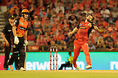 8th January 2018, The WACA, Perth, Australia; Australian Big Bash Cricket, Perth Scorchers versus Melbourne Renegades; Kane Richardson of the Melbourne Renegades bowls during the Scorchers innings