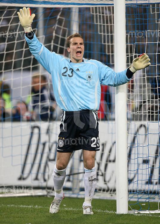 Fussball International Deutsche Nationalmannschaft 2006/20007 Torwart Robert ENKE (Deutschland)
