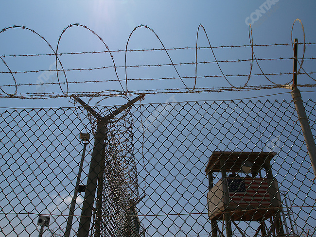 """High security prison for detainees of the """"War on Terror"""", U.S. military, Camp Delta, Guantanamo Bay, Cuba, March 18, 2005"""
