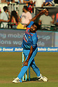 India's Jasprit Bumrah bowls during a T20 match between Ireland and India at the Malahide cricket club in Dublin on June 27, 2018. Photo/Paul McErlane