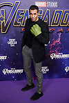 Mario de la Rosa attends to Avengers Endgame premiere at Capitol cinema in Madrid, Spain. April 23, 2019. (ALTERPHOTOS/A. Perez Meca)