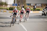 Bob JUNGELS (LUX/Deceuninck-Quick Step)<br /> <br /> 74th Dwars door Vlaanderen 2019 (1.UWT)<br /> One day race from Roeselare to Waregem (BEL/183km)<br /> <br /> ©kramon