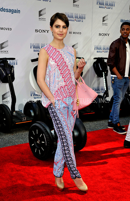 WWW.ACEPIXS.COM<br /> <br /> April 11 2015, New York City<br /> <br /> Sami Gayle arriving at the 'Paul Blart: Mall Cop 2' New York Premiere at AMC Loews Lincoln Square on April 11, 2015 in New York City.<br /> <br /> By Line: Curtis Means/ACE Pictures<br /> <br /> <br /> ACE Pictures, Inc.<br /> tel: 646 769 0430<br /> Email: info@acepixs.com<br /> www.acepixs.com