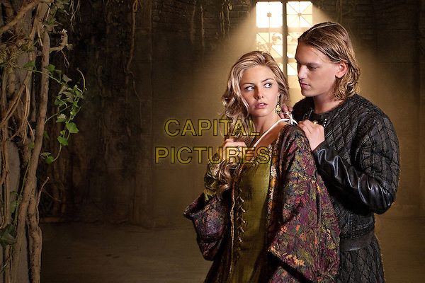 TAMSIN EGERTON & JAMIE CAMPBELL BOWER.for Camelot (2011).*Filmstill - Editorial Use Only*.CAP/FB.Supplied by Capital Pictures.