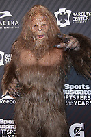 NEW YORK, NY - DECEMBER 5: Sasquatch, Bigfoot  at the 2017 Sports Illustrated Sportsperson Of The Year Awards at Barclays Center on December 5, 2017 in New York City. Credit: Diego Corredor/MediaPunch /NortePhoto.com NORTEPHOTOMEXICO