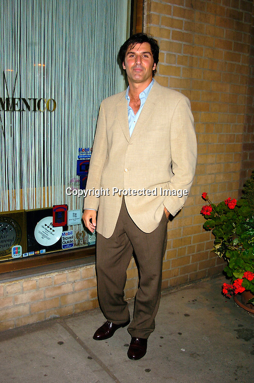 Vincent Irizarry ..at a Party for Susan Lucci to announce her Star on the Hollywood Walk of Fame on September 23, 2004 ..at San Domenico Restaurant . ..Photo by Robin Platzer, Twin Images