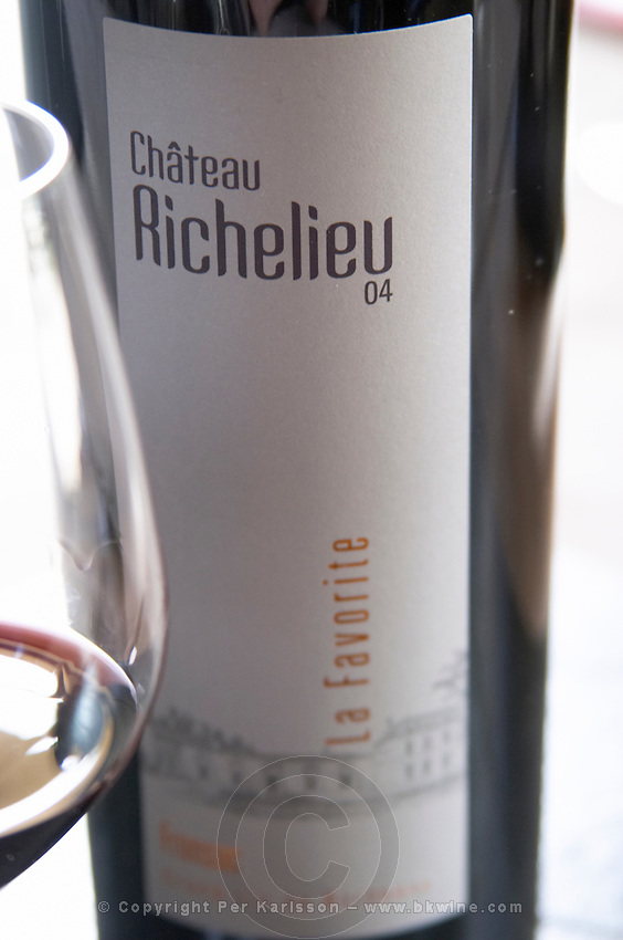 La Favorite. Chateau Richelieu, Fronsac, Bordeaux, France