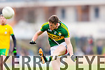 Jonathan Lyne Kerry in action against  Donegal in Division One of the National Football League at Austin Stack Park Tralee on Sunday.