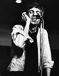 Scott Walker 1968 at Sheffield Cavendish Club .© Chris Walter.