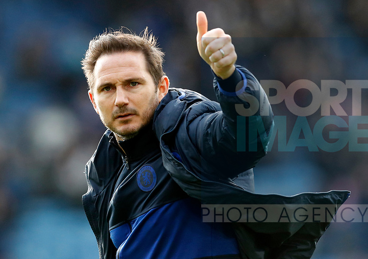 Chelsea manager Frank Lampard gestures after the Premier League match against Leicester City at the King Power Stadium, Leicester. Picture date: 1st February 2020. Picture credit should read: Darren Staples/Sportimage