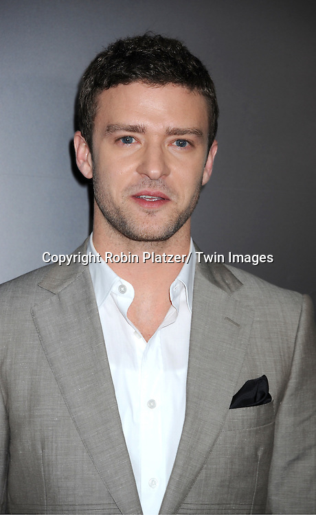 """Justin Timberlake attending the New York Premiere of """"Freinds With Benefits"""" on July 18, 2011 at The Ziegfeld Theatre in New York City. The movie stars Justin Timberlake, Mila Kunis, Emma Stone, Patricia Clarkson, Jenna Elfman and Bryan Greenberg."""