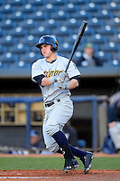 Trenton Thunder outfielder Tyler Austin #21 during a game against the Akron Aeros on April 22, 2013 at Canal Park in Akron, Ohio.  Trenton defeated Akron 13-8.  (Mike Janes/Four Seam Images)
