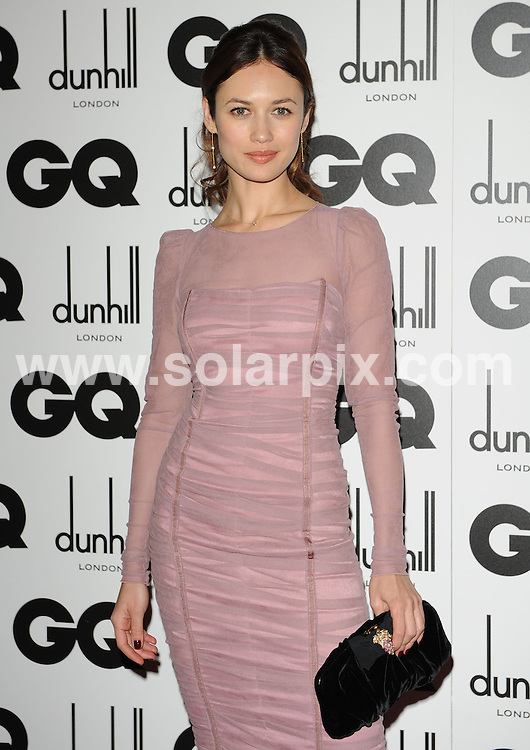 **ALL ROUND PICTURES FROM SOLARPIX.COM**.**WORLDWIDE SYNDICATION RIGHTS**.The GQ Men of the year Awards 2010. Held at the Royal Opera House, Covent Garden, London, on Tuesday September 07, 2010..This pic: Olga Kurylenko..JOB REF: 12052 SSD     DATE: 07_09_2010.**MUST CREDIT SOLARPIX.COM OR DOUBLE FEE WILL BE CHARGED**.**MUST NOTIFY SOLARPIX OF ONLINE USAGE**.**CALL US ON: +34 952 811 768 or LOW RATE FROM UK 0844 617 7637**