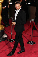 HOLLYWOOD, CA, USA - MARCH 02: Jeremy Renner at the 86th Annual Academy Awards held at Dolby Theatre on March 2, 2014 in Hollywood, Los Angeles, California, United States. (Photo by Xavier Collin/Celebrity Monitor)